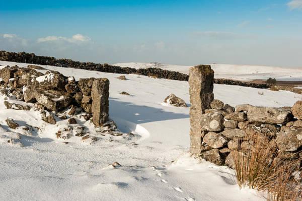 Photograph - Winter Gateway by Helen Northcott