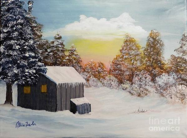 Painting - Winter Getaway by Alicia Fowler
