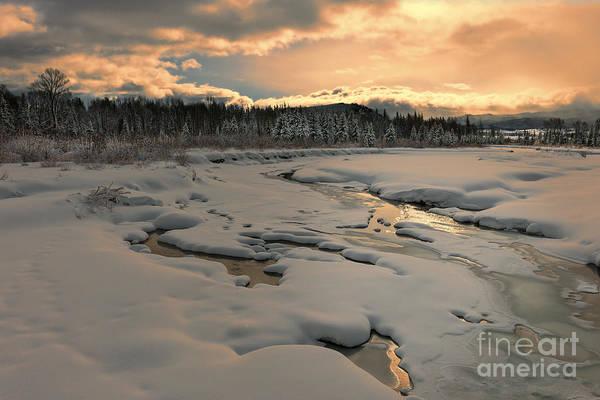 Wall Art - Photograph - Winter Glory In Grand Teton National Park by Sandra Bronstein