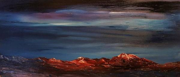 Painting - Winter Glow                        73 by Cheryl Nancy Ann Gordon
