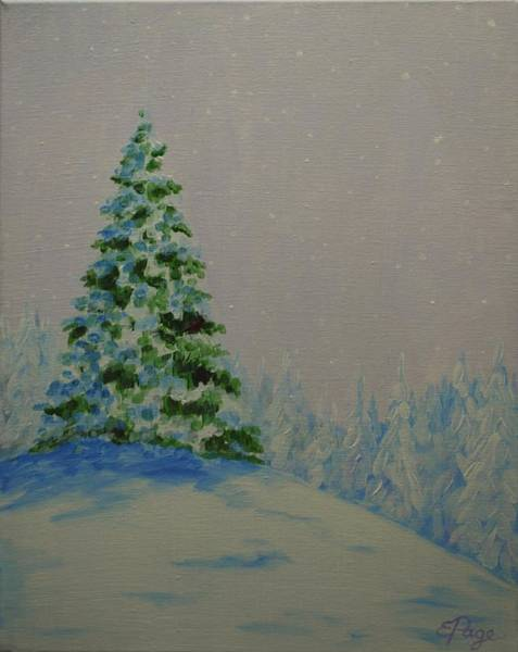 Painting - Winter Glow by Emily Page