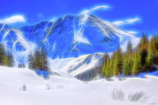 Wall Art - Photograph - Winter Glow by Eric Glaser