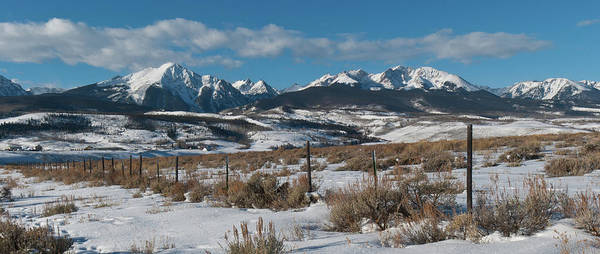 Photograph - Winter Gore Range Panorama by Cascade Colors