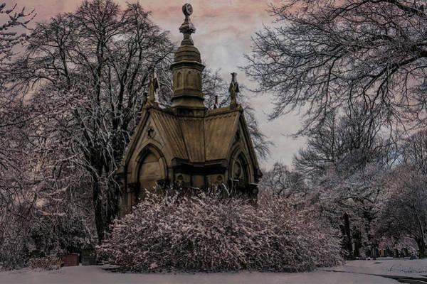 Digital Art - Winter Gothik by Chris Lord