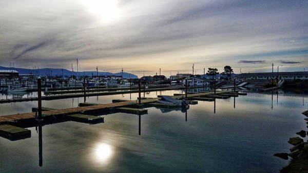 Photograph - Winter Harbor Revisited #mobilephotography by Chriss Pagani