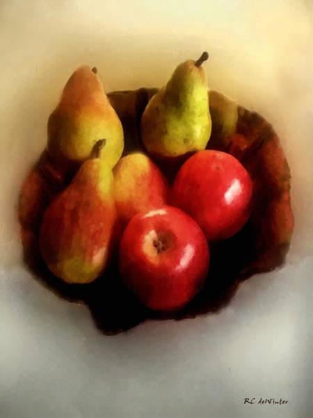 Painting - Winter Harvest by RC DeWinter