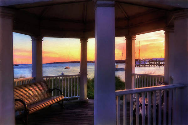 Photograph - Vineyard Haven Sunrise - Martha's Vineyard by Joann Vitali