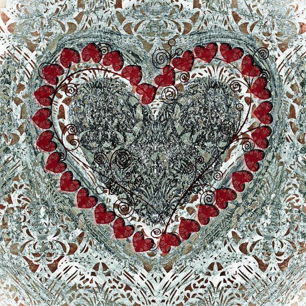 Wall Art - Painting - Winter Heart by Frank Tschakert