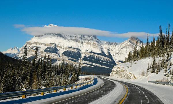 Photograph - Winter Highway by U Schade
