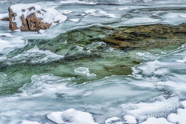 Photograph - Winter Ice And Snow by Thomas R Fletcher
