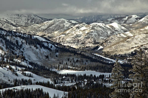 Photograph - Winter In Big Cottonwood Canyon by Adam Jewell