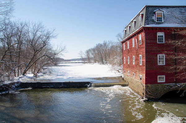 Photograph - Winter In Princeton - Kensington Mill by Bill Cannon