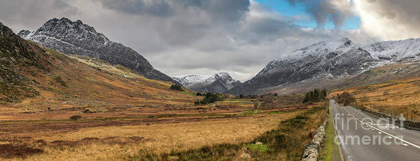 Photograph - Winter In Snowdonia by Adrian Evans