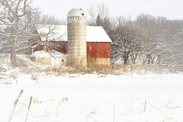 Photograph - Winter In The Country by Larry Ricker