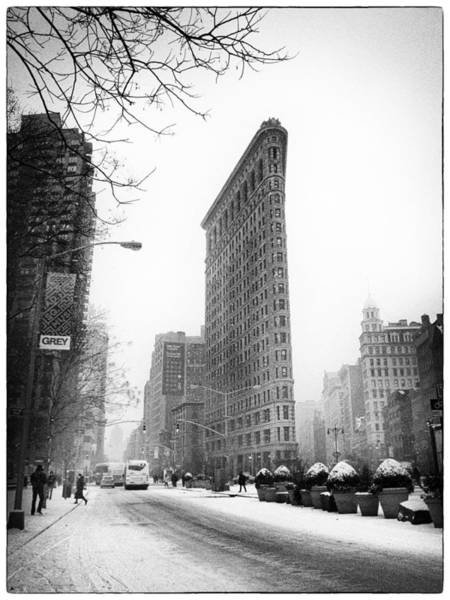 Photograph - Winter In The Flatiron District by Jessica Jenney