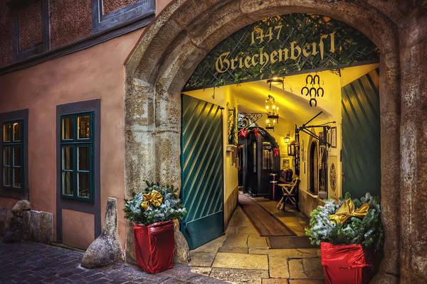 Inn Wall Art - Photograph - Winter In Vienna by Carol Japp