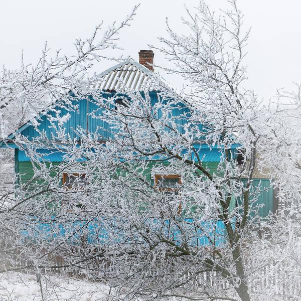 Photograph - Winter In Village. Shchymel, 2014. by Andriy Maykovskyi