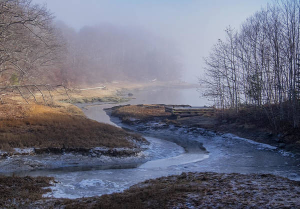 Photograph - Winter Inlet by Tom Singleton