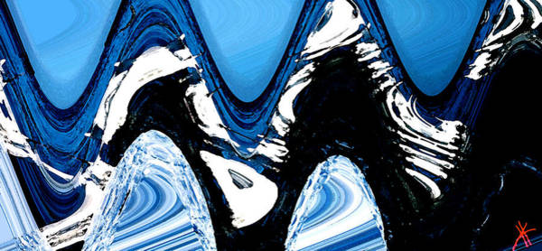Painting - Winter Inspiration by Colette V Hera  Guggenheim