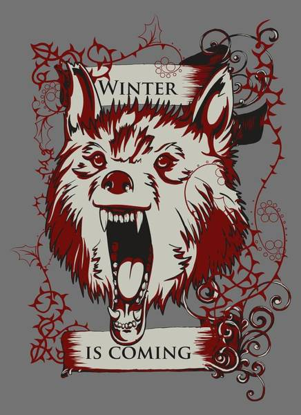 Digital Art - Winter Is Coming by Christopher Meade