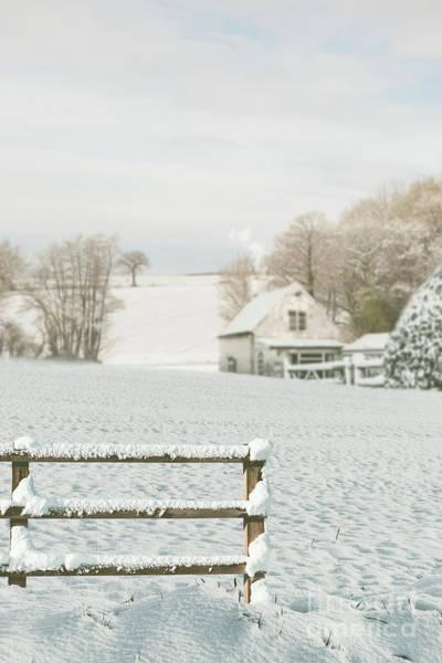 Wall Art - Photograph - Winter Landscape - England Uk by Amanda Elwell