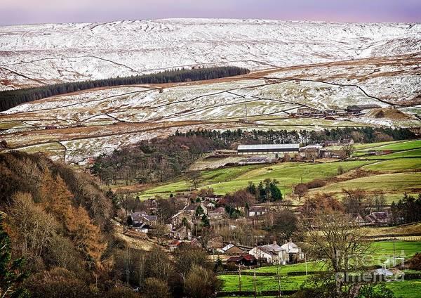 Photograph - Winter Landscape In Weardale, Co.durham Uk by Martyn Arnold