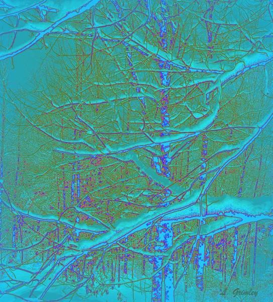 Wall Art - Digital Art - Winter by Lessandra Grimley