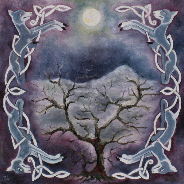 Painting - Winter Light by FT McKinstry
