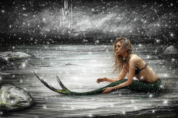 Spawn Painting - Winter Mermaid by Justin Gedak