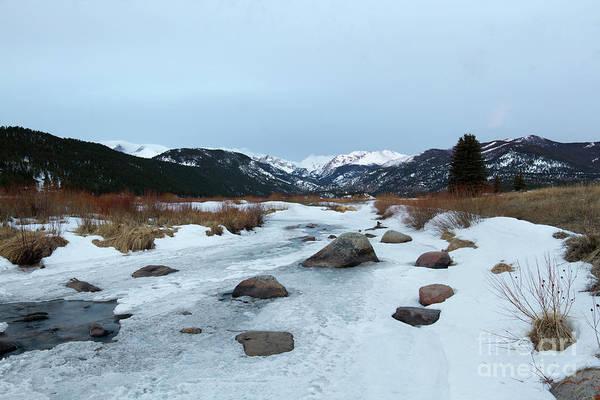 Wall Art - Photograph - Winter Morning In Rocky Mountain National Park, Estes Park, Colo by Ronda Kimbrow