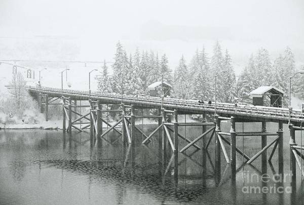 Photograph - Winter Morning In The Pier by Sal Ahmed