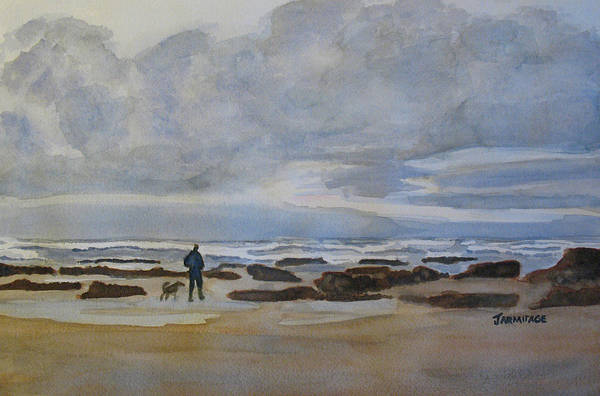 Wall Art - Painting - Winter Morning Solitude II by Jenny Armitage