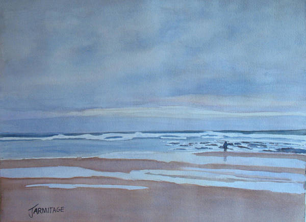 Wall Art - Painting - Winter Morning Solitude by Jenny Armitage