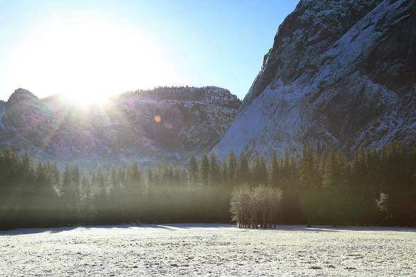 Wall Art - Photograph - winter of Yosemite, second by Hyuntae Kim
