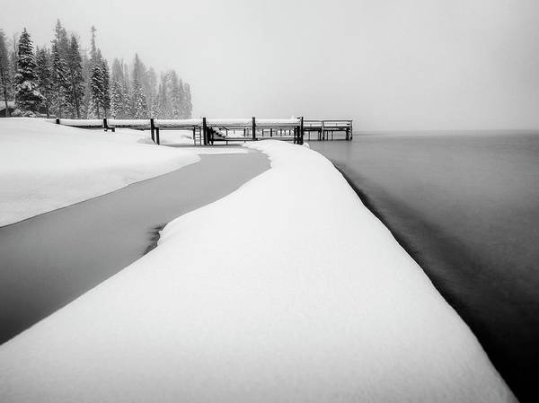 Wall Art - Photograph - Winter On Lake Tahoe by Steve Spiliotopoulos