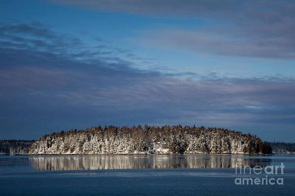 Wall Art - Photograph - Winter On Taunton Bay by Susan Cole Kelly