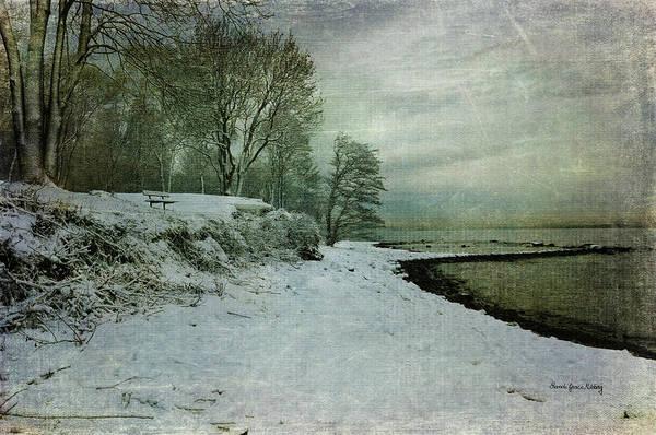 Photograph - Winter On The Beach by Randi Grace Nilsberg