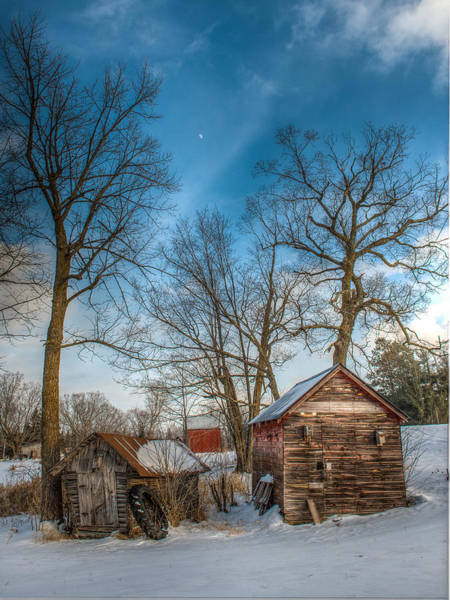 Wall Art - Photograph - Winter On The Homestead by Paul Freidlund