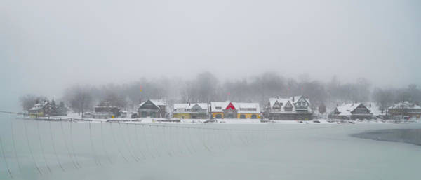 Philly Digital Art - Winter On The Schuylkill - Boathouse Row by Bill Cannon