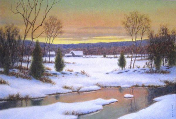 Wall Art - Painting - Winter Peace by Barry DeBaun