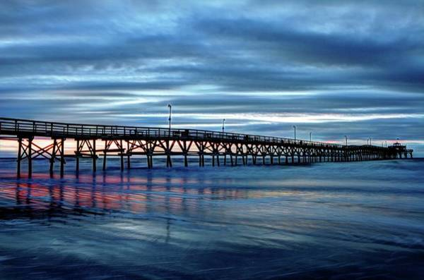 Photograph - Winter Pier by Ree Reid