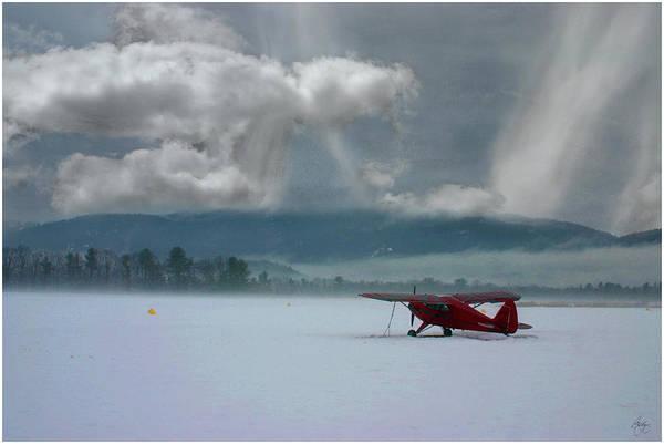Photograph - Winter Plane by Wayne King