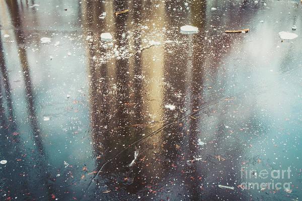 Photograph - Winter Pond And Reflections by Marina Usmanskaya