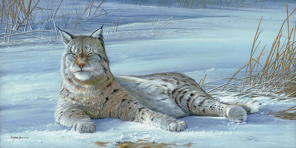 Painting - Winter Prince by Mike Brown