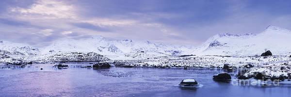 Highland Light Photograph - Winter - Rannoch Moor by Rod McLean