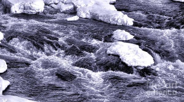 Photograph - Winter Rapids by Olivier Le Queinec