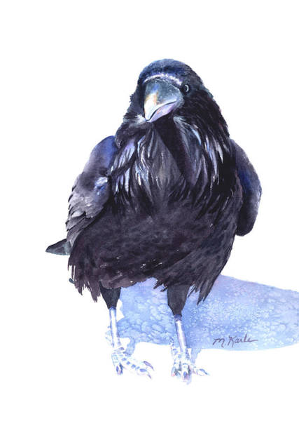Painting - Winter Raven by Marsha Karle