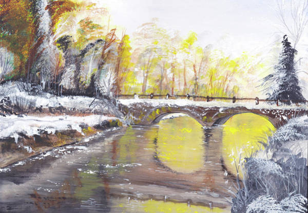 Painting - Winter Reflections by Danny O'Connor