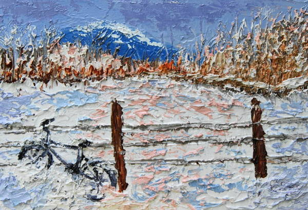 Painting - Winter Ride by Chrys Wilson