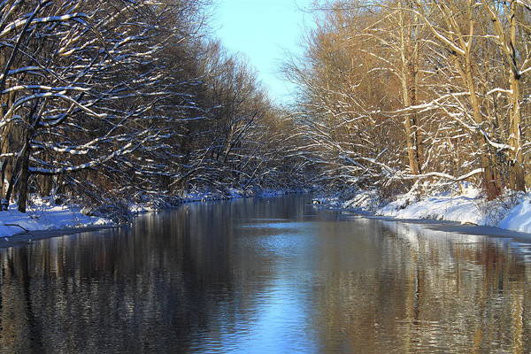 Photograph - Winter River by Frank Romeo